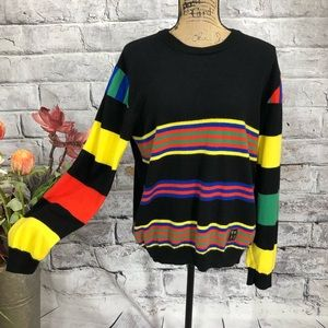 Love Moschino Striped Cashmere Blend Sweater